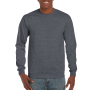 Gildan T-shirt Ultra Cotton LS Dark Heather M