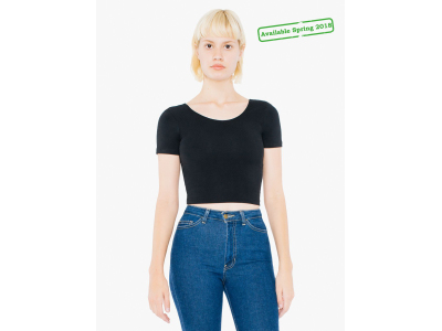 AMA T-shirt Crop Cot/Spandex For Her