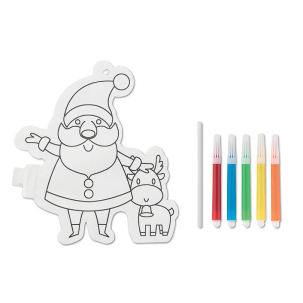 SANTABALL - Santa Claus colouring balloon
