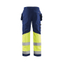 High Vis werkbroek met stretch