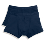 2-PACK Classic Shorty Deep Navy S