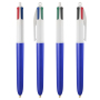 4 Colours Glacé ballpen LP blue_UP white_RI white