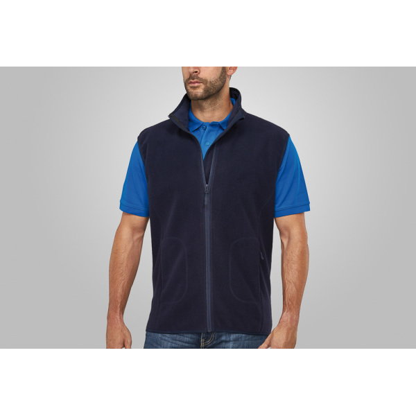 Macseis Soft Fleece Vest for him Blue Navy