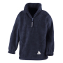Junior Active Fleece Top M (8-10) Navy