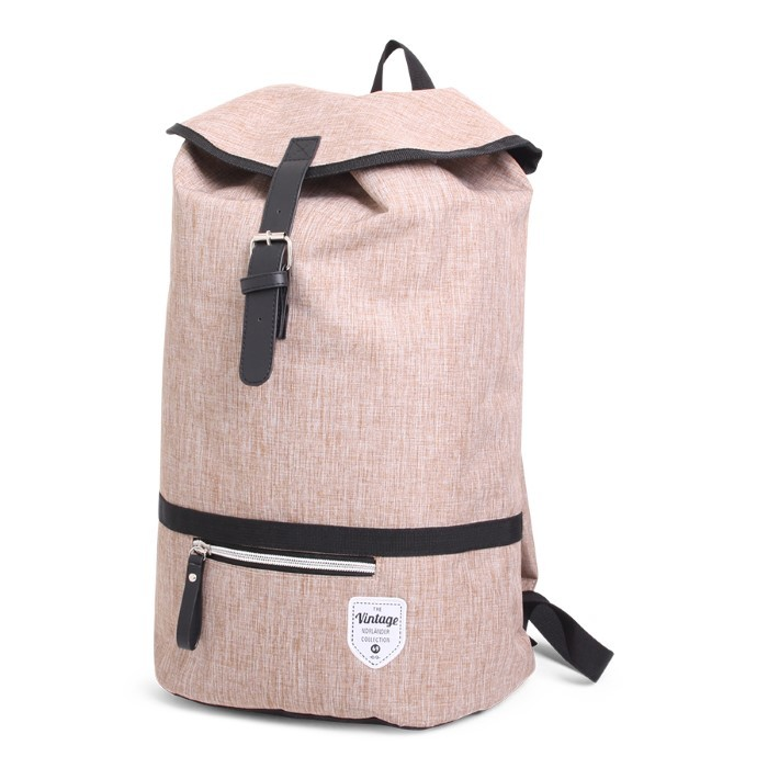 Twin Tone Backpack Cognac