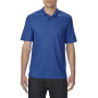 Gildan Polo Performance Double Pique SS for him royal blue M