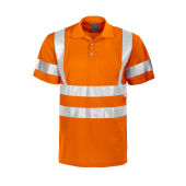 Projob 6011 PIQUE HV CL3 ORANGE SMALL/MEDIUM