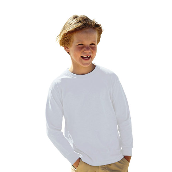 KIDS LS VALUE WEIGHT 61-007-0 - Kinder t-shirt 165 g/m²
