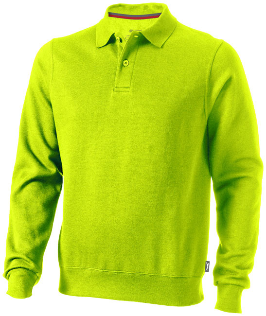 Referee polosweater - appelgroen - XXXL