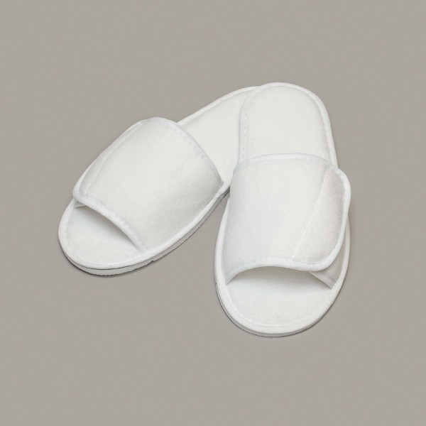 Open toe slippers