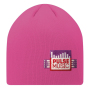 Double layer, 6 seams beanie