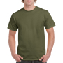 Gildan T-shirt Heavy Cotton for him Military Green XXXL