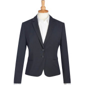 Calvi slim fit jacket charcoal 46 eu (18 uk)