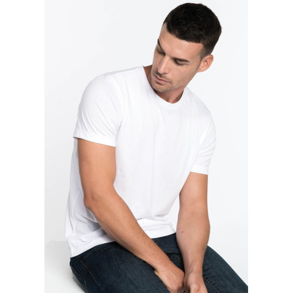 Men's short-sleeved crew neck t-shirt