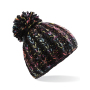 Aurora Pom Pom Beanie One Size Starlight Black