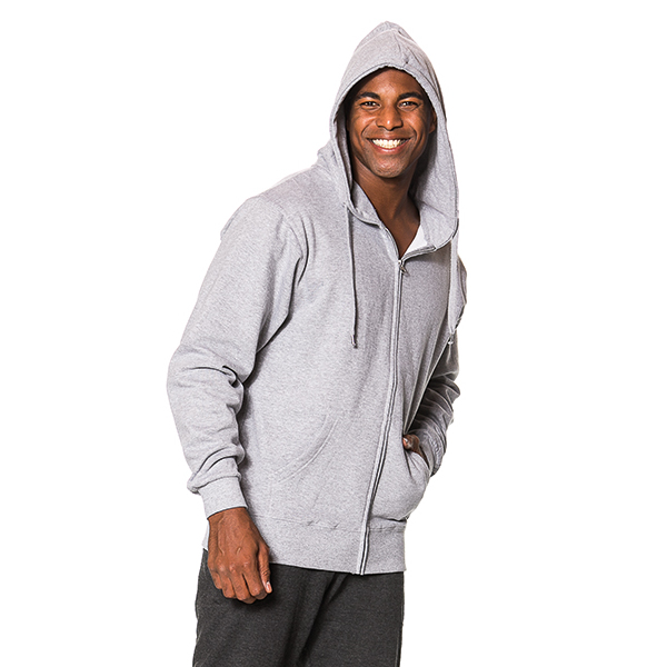 Hooded Zip Sweat