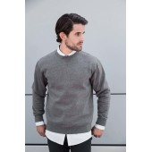 Authentic crew neck melange sweatshirt