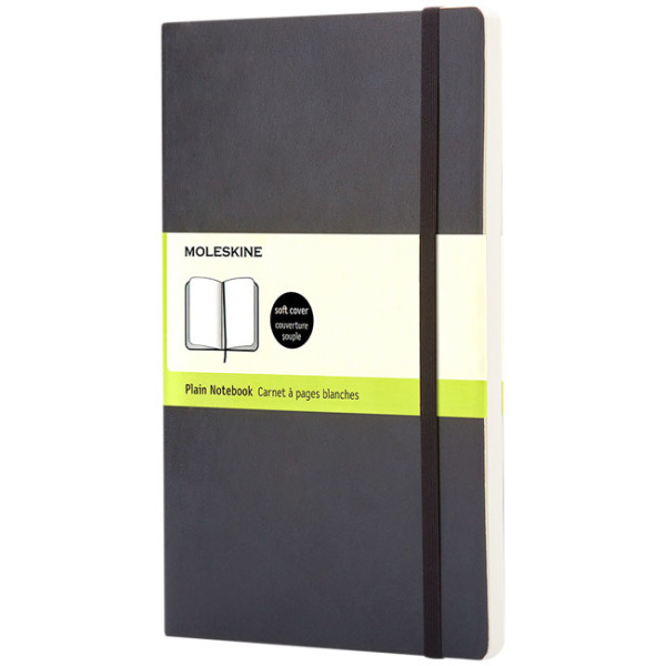 Classic L soft cover notitieboek - effen