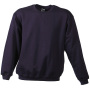 Round Sweat Heavy Junior aubergine