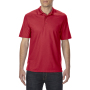 Gildan Polo Performance Double Pique SS for him red 3XL