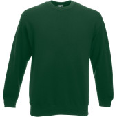 Classic set-in sweat (62-202-0) bottle green 3xl