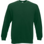 Classic set-in sweat (62-202-0) bottle green 'l