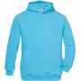 Hooded / kids very turquoise 9/11 y (9/11 ans)