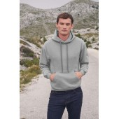 Classic hooded sweat (62-208-0) dark heather grey s
