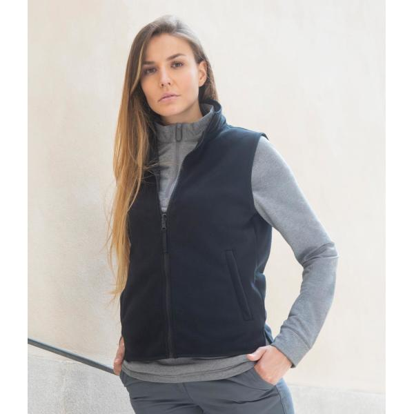 Ladies Sleeveless Micro Fleece Jacket