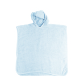 Baby Poncho light blue