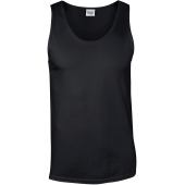 Softstyle® euro fit adult tank top black xxl