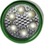 Aluminium torch light green