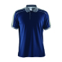 Craft Noble polo pique shirt men navy/da.grey s