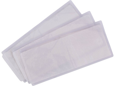 Heat apply id pockets (packs of 50)