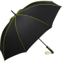 AC midsize umbrella FARE®-Seam - black-lime