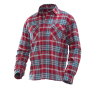 5138 Worker Shirt red/petrol 3xl