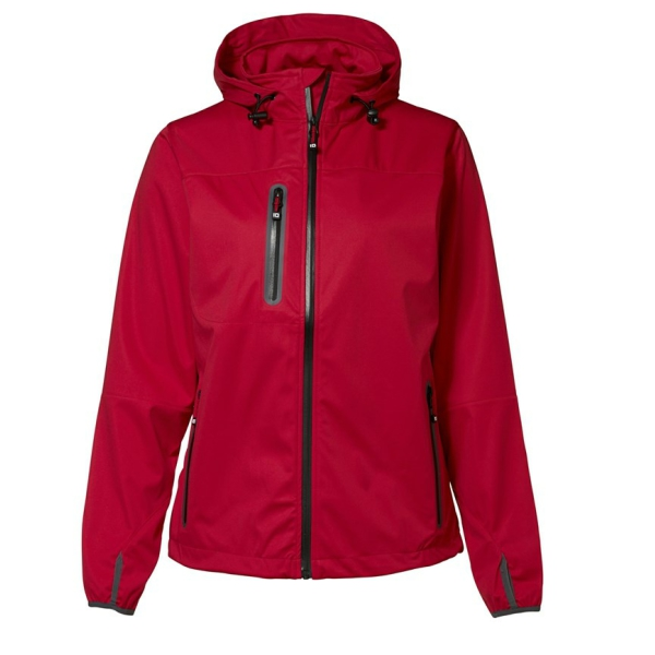 Lightweight soft shell jacket