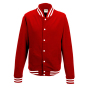 College Jacket XS Fire Red