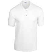 Dryblend®adult jersey polo white 3xl