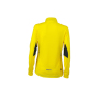 Ladies' Running Shirt - citroen/ijzergrijs