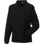 Heavy duty collar sweatshirt black 3xl