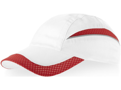 Qualifier 6 panel mesh cap