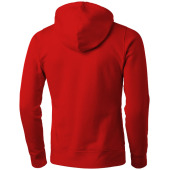 Alley heren sweater met capuchon - Rood - XXXL