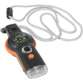 ABS 6-in-1 survival tool oranje
