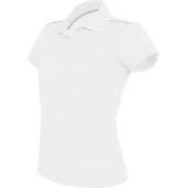 Damessportpolo white s