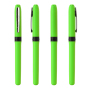Grip Roller Black IN_Barrel/CA green_CL chrom_GR black
