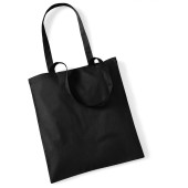 Bag for life - long handles black one size