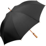 AC midsize bamboo umbrella ÖkoBrella - black