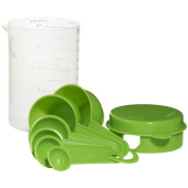 7 delige maatbeker set - Lime