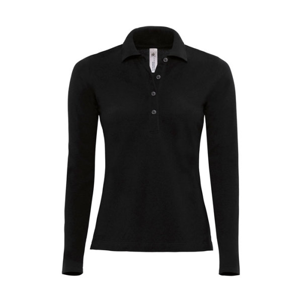 LADIES' POLO LS
